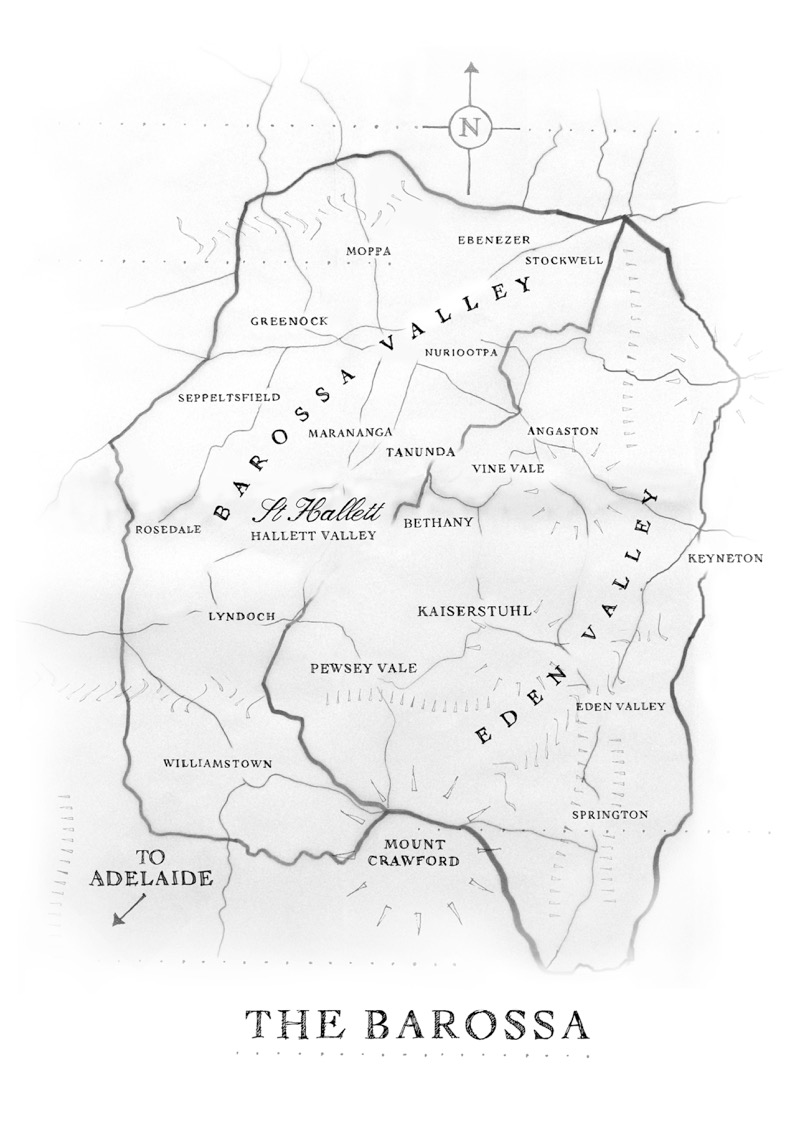 Barossa Map